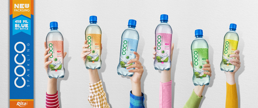 Design Coco Sparkling 450ml Pet Bottle 1 small