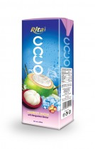 200ml Coconut  water with Mangosteen tetra pack