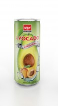 250ml Avocado with Peach Juice