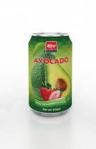 330ml Avocado with Strawberry Juice