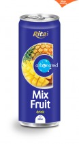 330ml Mix Fruit Carbonated drink