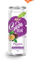 330ml Soda drink passion Flavour 2
