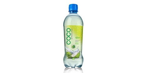 Coconut sparkling with lemon and mint 450ml pet bottle