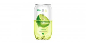 Pet can 350ml Sparkling drink with lime  flavor rita