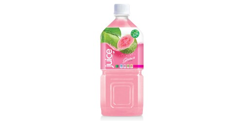 natural pink guave juice drink 1000ml pet bottle
